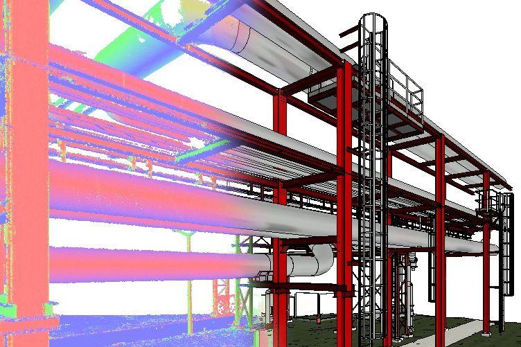 skaning-laserowy-obiekt-inzynierski-elementy-stalowe-oraz-orurowanie-model